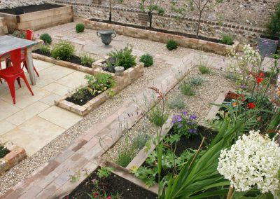 Victorian walled garden, Pyecombe Jack Windmill